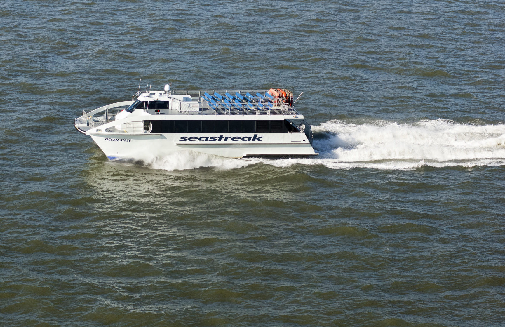 megabus adds seastreak ferry service stops - providence business news