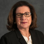 SUSAN MCTIERNAN, dean of the Mario J. Gabelli School of Business at Roger Williams University, was awarded the Women Administrators in Management Education Affinity Group's Patricia M. Flynn Distinguished Woman in Business Education Award. /COURTESY ROGER WILLIAMS UNIVERSITY