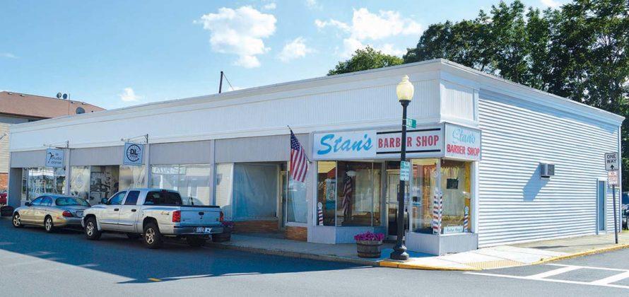 186 N. Main St. (1900)PROPERTY OWNER: RAM Trust (Robert E. Perkins Sr., trustee)TENANTS: Le Studio Danse; Stan's Barber Shop; DL Cycle