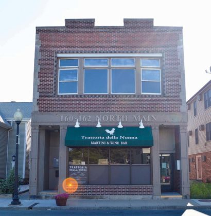 160-162 N. Main St. (1930)PROPERTY OWNER: Red Brick Realty Trust (Louis F. and Kathleen Guarino, trustees)TENANT: Trattoria della Nonna