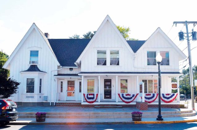 126 N. Main St. (1880)PROPERTY OWNER: Nancy C. EamesTENANT: Robert W. Eames Insurance Agency Inc.