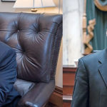 BACK SO SOON? House Speaker Nicholas A. Mattiello, left, and Senate President Dominick J. Ruggerio are playing with Rhode Island's economic future, but the state's citizens have very little power to force a change in their behavior. / PBN FILE PHOTOS/MICHAEL SALERNO