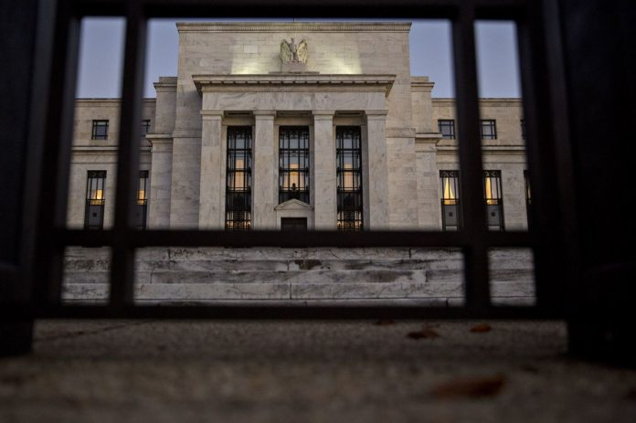 THE FEDERAL RESERVE said might begin to begin balance sheet normalization as soon as September. / BLOOMBERG FILE PHOTO/ANDREW HARRER