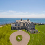 OCEANWIDE, A FIVE-BEDROOM oceanfront house with 3 miles of private beach, located at 15 Spray Rock Road in Westerly, has been listed for $12.5 million. /COURTESY LILA DELMAN REAL ESTATE INTERNATIONAL