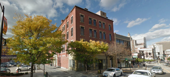 BANK RHODE ISLAND MADE a $3.4 million loan to help turn this building, at 259 Weybosset St., in downtown Providence, into six residential apartment units. /COURTESY BANK RHODE ISLAND