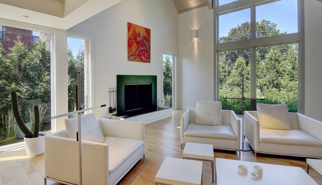 The contemporary style house at 51 Prospect St. sold in July for $2.1 million./Courtesy Residential Properties Ltd.