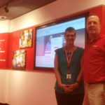 KELLY WILSON, LEFT and Ed Pethan, right, both retired military, now manage the CVS Health Talent Connect Center. /COURTESY CVS HEALTH CORP.