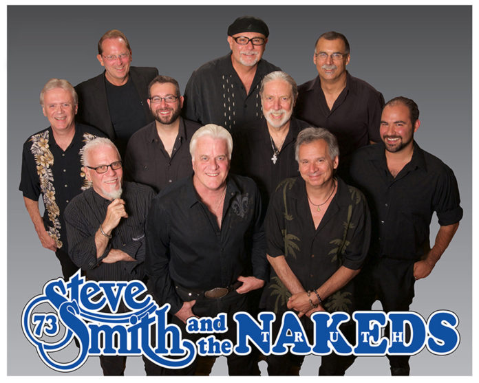 STEVE SMITH & THE NAKEDS will perform a four-hour set during the David Louis Cunha Foundation fundraiser to help support children living with life-threatening medical conditions. /COURTESY STEVE SMITH & THE NAKEDS