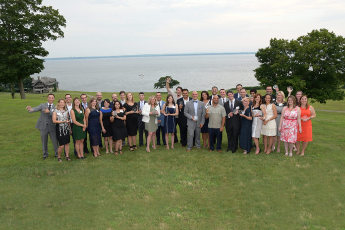 PROVIDENCE BUSINESS NEWS' 2017 40 Under Forty class were celebrated at a party held at the Aldrich Mansion on Warwick Neck overlooking Narragansett Bay.
