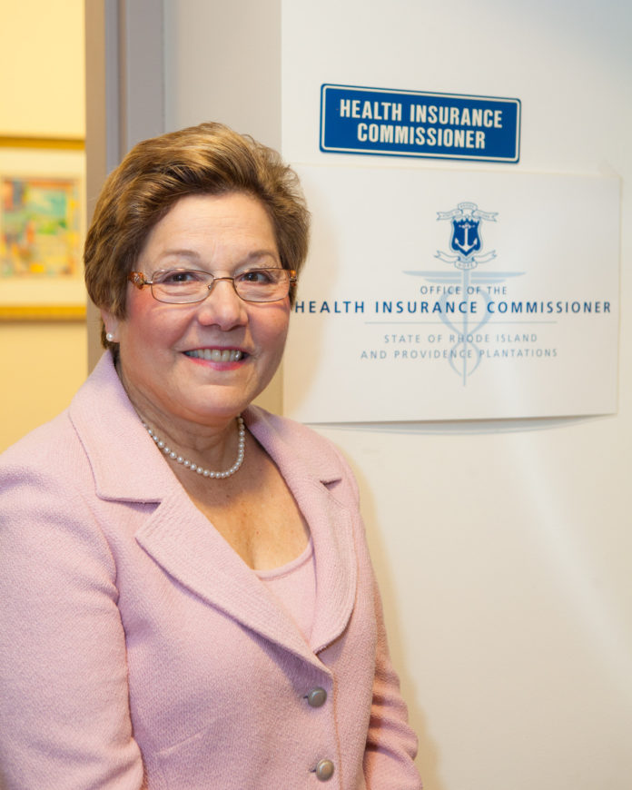 KATHLEEN C. HITTNER, THE R.I. Health Insurance Commissioner announced the health insurance premium requests for individual and small group markets, Thursday evening./ PBN FILE PHOTO/TRACY JENKINS