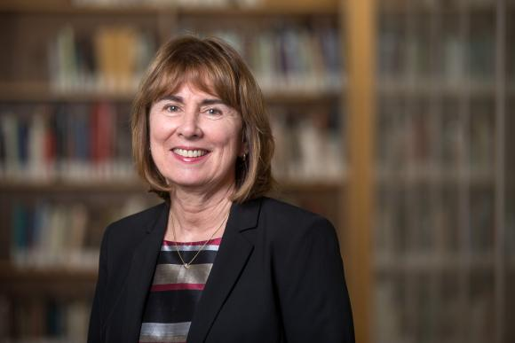 JILL PIPHER, who in 2010 helped found the Brown University Institute for Computational and Experimental Research in Mathematics, has succeeded David Savitz as vice president for research at Brown, effective July 1. / COURTESY BROWN UNIVERSITY