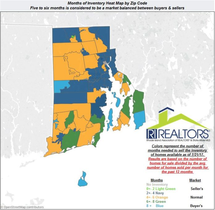 Sales of single-family homes in June rose dramatically in Rhode Island on a year-over year basis. /COURTESY THE RHODE ISLAND ASSOCIATION OF REALTORS