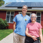 MAKING A DIFFERENCE: Drs. Amy and Ralph Pratt, owners of West Greenwich Animal Hospital, purchased a rooftop solar array, helped in part by a state Renewable Energy Fund grant.  / PBN PHOTO/