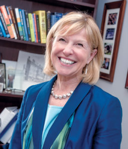 """ENERGIZED: Marion Gold, commissioner of the R.I. Public Utilities Commission, said the global debate on carbon has """"galvanized"""" state and local leadership. Regional Greenhouse Gas Initiative member states will meet throughout the summer to come up with a new plan to carry out the initiative throughout the decade beginning 2020. / PBN PHOTO/ MICHAEL SALERNO"""