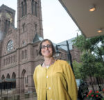 FINANCIAL SUPPORT: Andrea H. Krupp, executive director of the Catholic Foundation of Rhode Island, works closely with the Roman Catholic Diocese of Providence, arranging endowments that fund diocesan-related organizations. / PBN PHOTO/MICHAEL SALERNO