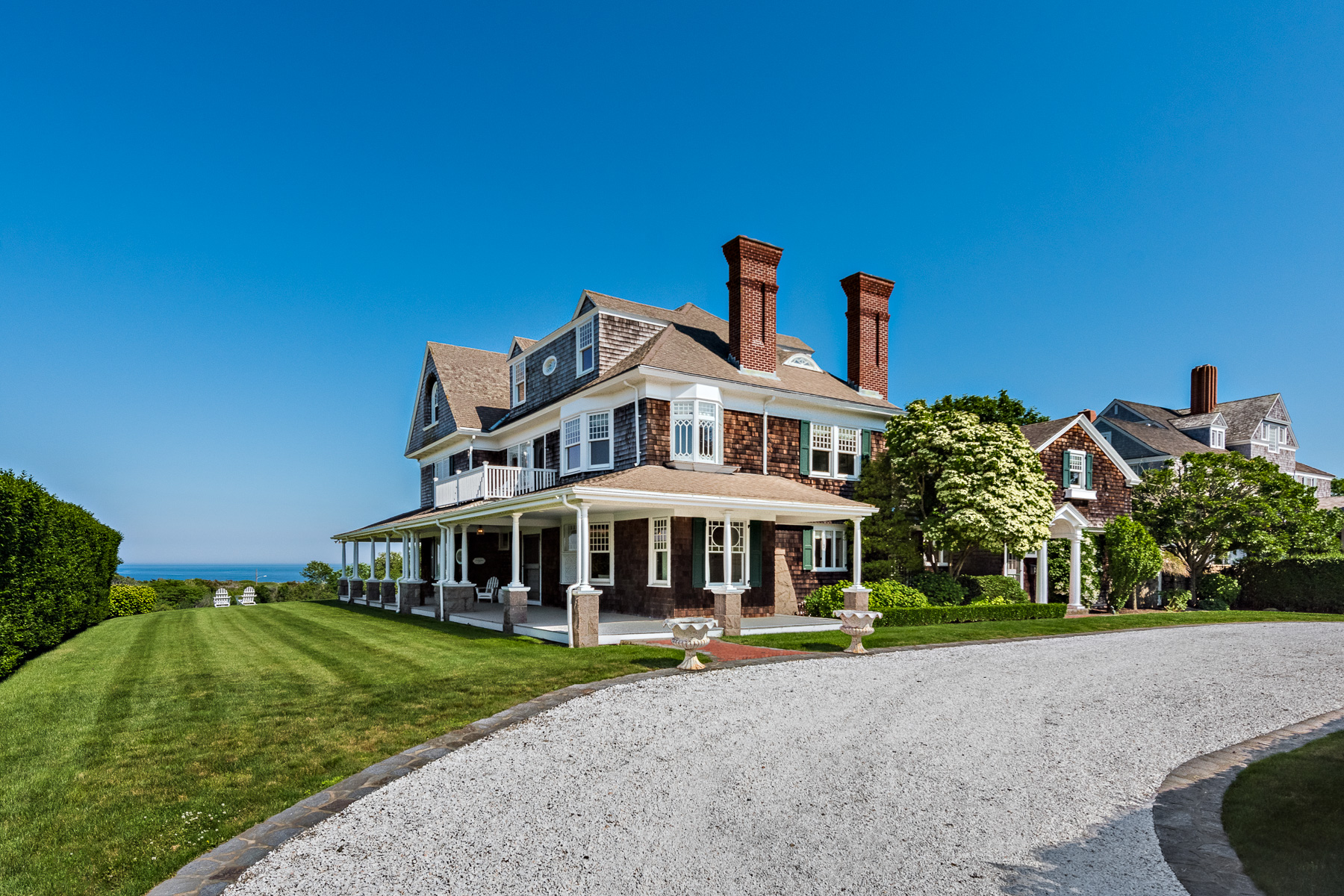 This eight-bedroom home sold recently for $7.4 million./MOTT & CHACE SOTHEBY'S INTERNATIONAL REALTY.