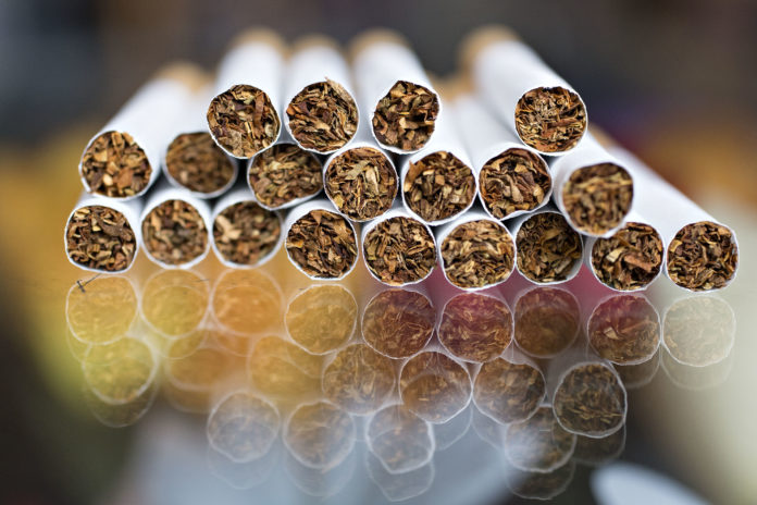 THE CIGARETTE TAX was increased by 50 cents as part of the fiscal 2018. The tax hike will take effect on Aug. 16. / BLOOMBERG FILE PHOTO/DANIEL ACKER