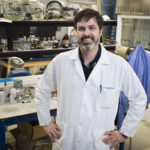 ARTHUR VON WALD CRESCE, one of the U.S. Army Research Laboratory's researchers in electrochemistry, says the lab's partnership with Brown University could help design the next generation of lithium-ion batteries with improved performance and durability. / COURTESY U.S. ARMY RESEARCH LABORATORY