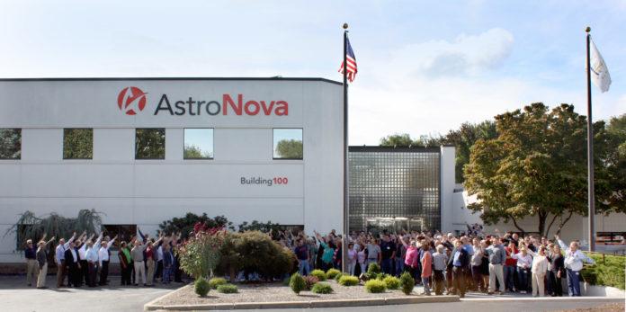 ASTRONOVA REPORTED A $727,000 profit for the company's second quarter ending on July 29. / COURTESY ASTRONOVA
