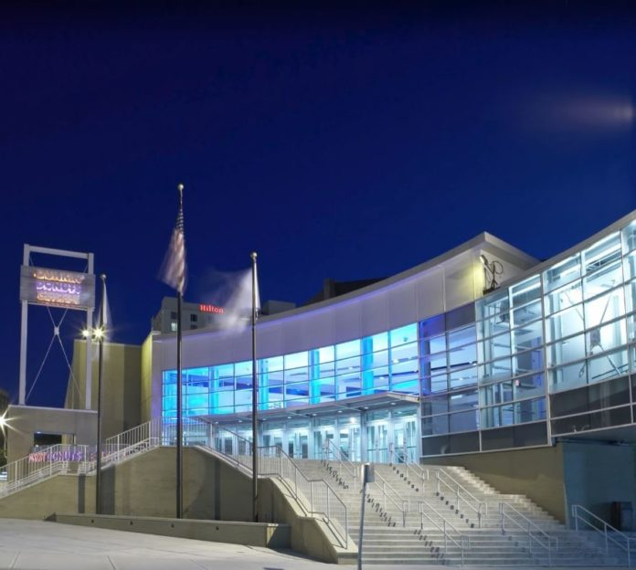 THE DUNKIN' DONUTS CENTER will host the 2018 USA Gymnastics National Congress and Trade Show Aug. 9-11. COURTESY THE DUNKIN' DONUTS CENTER