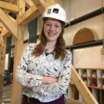 HANNAH AUGUSTYN IS A previous Feinstein Junior Scholar and Roger Williams University graduate. She holds a degree in architecture and a double minor in construction management and art and architectural history. /COURTESY ROGER WILLIAMS UNIVERSITY