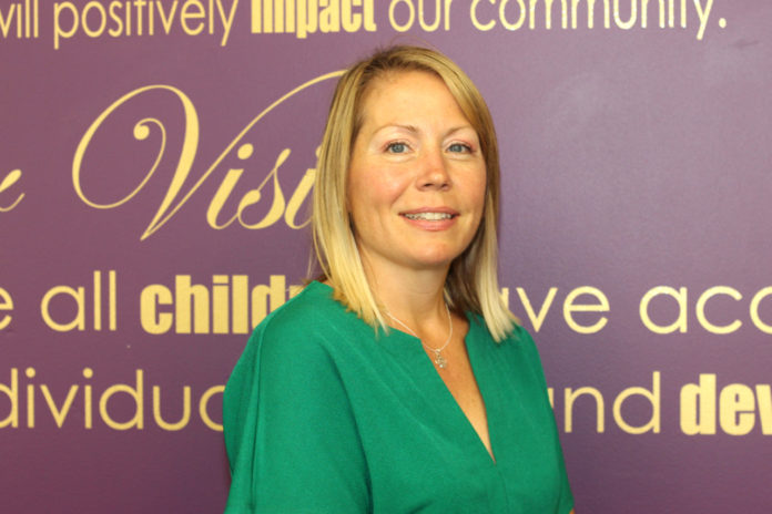 SHANNON GAMACHE SCURRY has been named Big Brothers Big Sisters of the Ocean State's new director of development and community relations. /COURTESY BIG BROTHERS BIG SISTERS OF THE OCEAN STATE