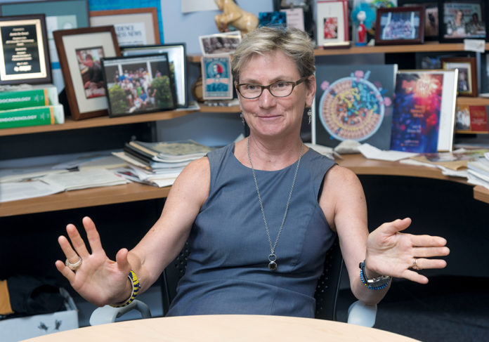 EPIVAX PRESIDENT AND CEO Dr. Anne S. De Groot. EpiVax has joined an National Institutes of Health partnership to research a vaccine for the influenza A (H7N9) virus. / PBN FILE PHOTO/MICHAEL SALERNO