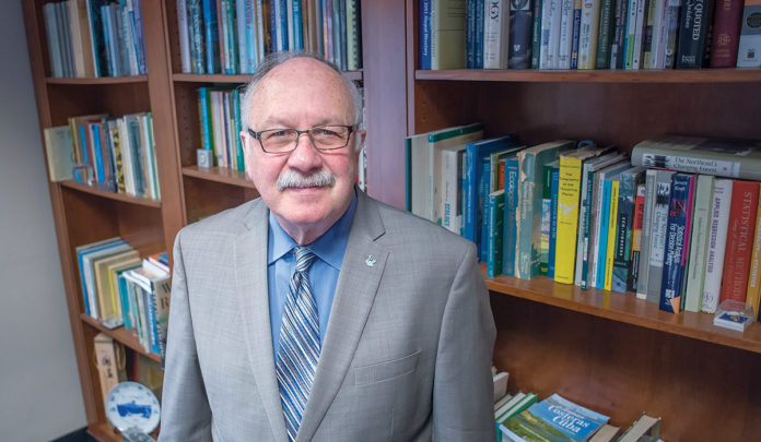 LENDING SUPPORT: Donald H. DeHayes, University of Rhode Island provost and vice president of academic affairs, says URI is sensitive to the cost of education and spends $100,000 on financial aid each year. / PBN FILE PHOTO/MICHAEL SALERNO