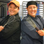 READY-MADE: Good4u founder Cindie DeMello, right, with business partner and General Manager Tanya DiMarco. The startup provides meal-delivery services, catering and plans to open a café. / COURTESY GOOD4U