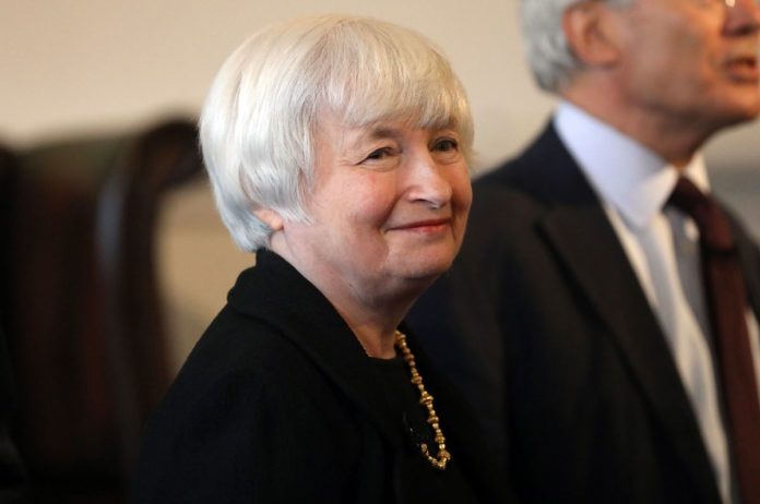 JANET YELLEN, chair of the U.S. Federal Reserve. / BLOOMBERG FILE PHOTO/CHRIS RATCLIFFE