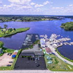 A MARINA at 93 Watch Hill Road in Westerly, the property shaded in above, sold for $1.05 million. /COURTESY LILA DELMAN REAL ESTATE INTERNATIONAL