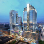 THE GREATER BOSTON market is expected to add more than 3 million square feet of office space in the next two years, according to a new report by Toronto-based Avison Young. The rendering above shows what The Hub on Causeway in Boston will look like when completed, which will feature more than 1.5 million square feet of retail, office, hotel and residential space. / COURTESY BOSTON PROPERTIES INC.