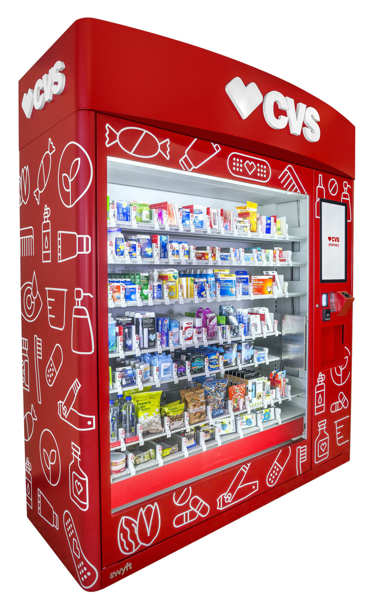 Cvs Introduces Health Product Vending Machines Providence