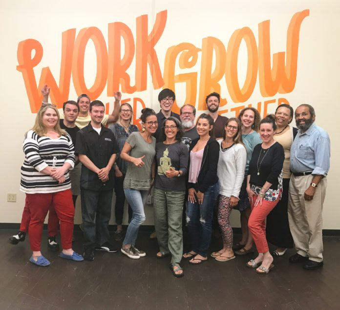 THE MOST RECENT COHORT of entrepreneurs to participate in the EforAll South Coast Accelerator Program will showcase their products and services to the public at an event on Sept. 21 to celebrate the nonprofit's two-year anniversary of its 2015 launch. / COURTESY EFORALL SOUTH COAST