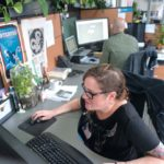 QUICK AND COMPLETE: Envision Technology Advisors' new Business Continuity Solutions Accelerator is a disaster-recovery program that the IT consultant delivers to clients within 30 business days. Amongst company employees is senior designer Sarah O'Donnell. / PBN PHOTO/MICHAEL SALERNO