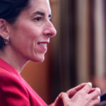 GOV. GINA M. RAIMONDO will deliver the keynote address at the 2017 Information Governance Conference in Providence, focusing on the state's efforts to revamp and update aging data infrastructure. / PBN FILE PHOTO/MICHAEL SALERNO