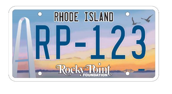 THE NEW DESIGN for the Rocky Point license plate was unveiled Tuesday. / COURTESY ROCKY POINT FOUNDATION