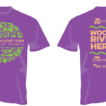 THE WOONASQUATUCKET RIVER WATERSHED COUNCIL will present the eighth annual Woony River Ride Bike-a-thon on Saturday, Sept. 16 along the banks of the Woonasquatucket River Greenway. Pictured is a T-shirt commemorating the event. / COURTESY WOONASQUATUCKET RIVER WATERSHED COUNCIL