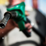 THE AVERAGE PRICE of regular gasoline in Rhode Island declined 2 cents this week to $2.64 per gallon. / BLOOMBERG FILE PHOTO/AKOS STILLER