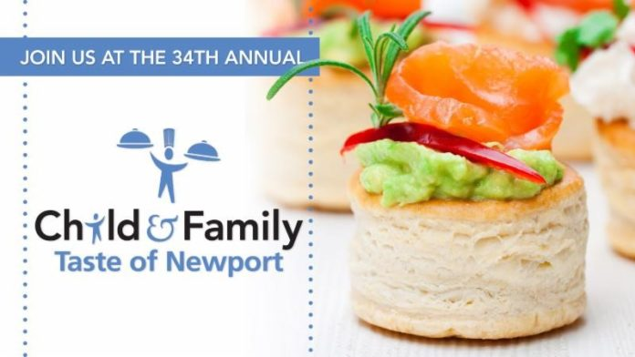 THE 34TH ANNUAL Taste of Newport will celebrate the achievements of local nonprofit community action group Child & Family Rhode Island's community programs. / COURTESY TASTE OF NEWPORT