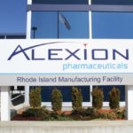 ALEXION PHARMACEUTICALS reported a 17 percent decline in profit for the 2017 third quarter as the company's expenses rose on restructuring and its cost of sales. Above, the Alexion manufacturing facility in Smithfield, which the company remains committed to closing as part of its corporate restructuring. / COURTESY ALEXION