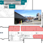 Up to 75,000-square-feet at Emerald Square mall is being converted to office space, as shown in graphic./Courtesy MG COMMERCIAL REAL ESTATE