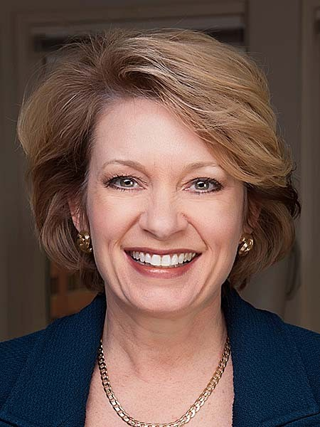 MIM L. RUNEY, the Providence campus president and chief operating officer of Johnson & Wales University, will become the new president of the Rhode Island Public Expenditure Council's board of directors and trustees on April 1, 2018. / COURTESY JOHNSON & WALES UNIVERSITY