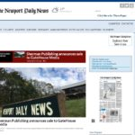 GATEHOUSE MEDIA has purchased Edward A. Sherman Publishing Co., the publisher of the Newport Daily News.