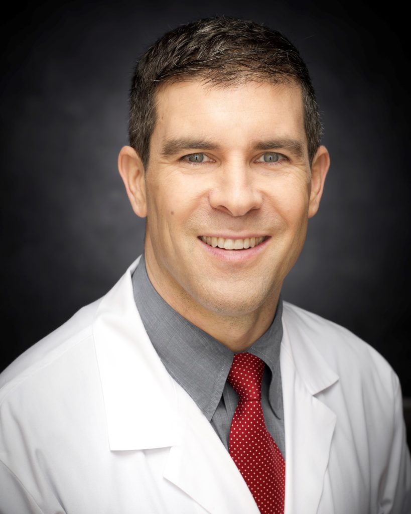 SPORTS MEDICINE SURGEON Dr. Brett Owens, of University Orthopedics, became one of the first in the country to administer a cartilage regrowth treatment to patients with knee damage. / COURTESY UNIVERSITY ORTHOPEDICS