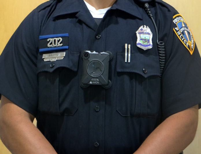 THE PROVIDENCE POLICE Department is implementing body-worn cameras in the next eight to 12 weeks. / COURTESY PROVIDENCE POLICE DEPARTMENT