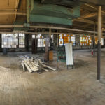 EAT DRINK RI announced a new food hall project at 235 West Park St. in Providence and an accompanying Kickstarter fundraising campaign. Above, the interior second floor of the new space in its current state. / COURTESY EAT DRINK RI