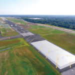 LONG-TERM INVESTMENT: $250 million of federal and state funds have gone into upgrading T.F. Green Airport, which extended the main runway and added other safety and environmental health improvements. The full payoff for the investment is not clear yet.  / COURTESY R.I. AIRPORT CORP.