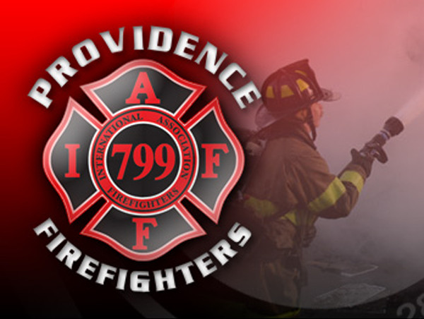 THE INTERNATIONAL ASSOCIATION OF FIRE FIGHTERS LOCAL 799 has reached an agreement with the city of Providence for $5.9 million to settle arbitration and unfair labor practices issues. / COURTESY PROVIDENCE FIREFIGHTERS IAFF LOCAL 799