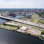 THE R.I. DEPARTMENT OF ENVIRONMENTAL Management provided updates on its development of the old Shooters nightclub parcel in Providence. / COURTESY EAT DRINK RI